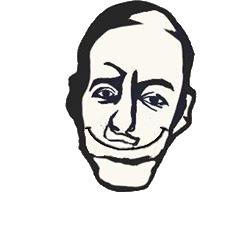 Paulo Coelho Sonriendo